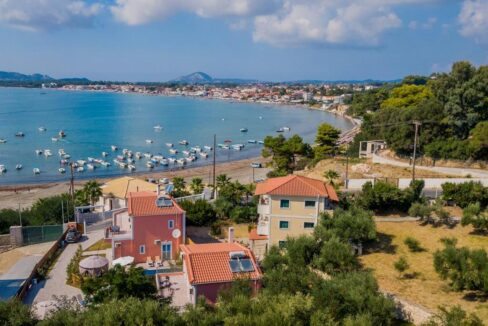 Seafront Villas in Zakynthos, Complex of 2 villas for sale
