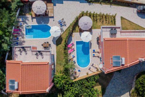 Seafront Villas in Zakynthos, Complex of 2 villas for sale 35