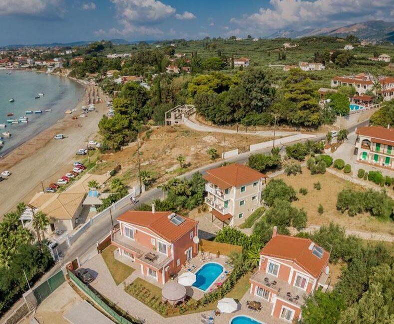 Seafront Villas in Zakynthos, Complex of 2 villas for sale 37