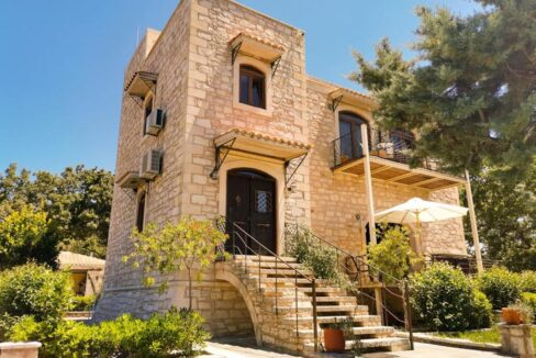 Stone Built Villa in Apokoronas Chania. Homes for Sale Crete Greece