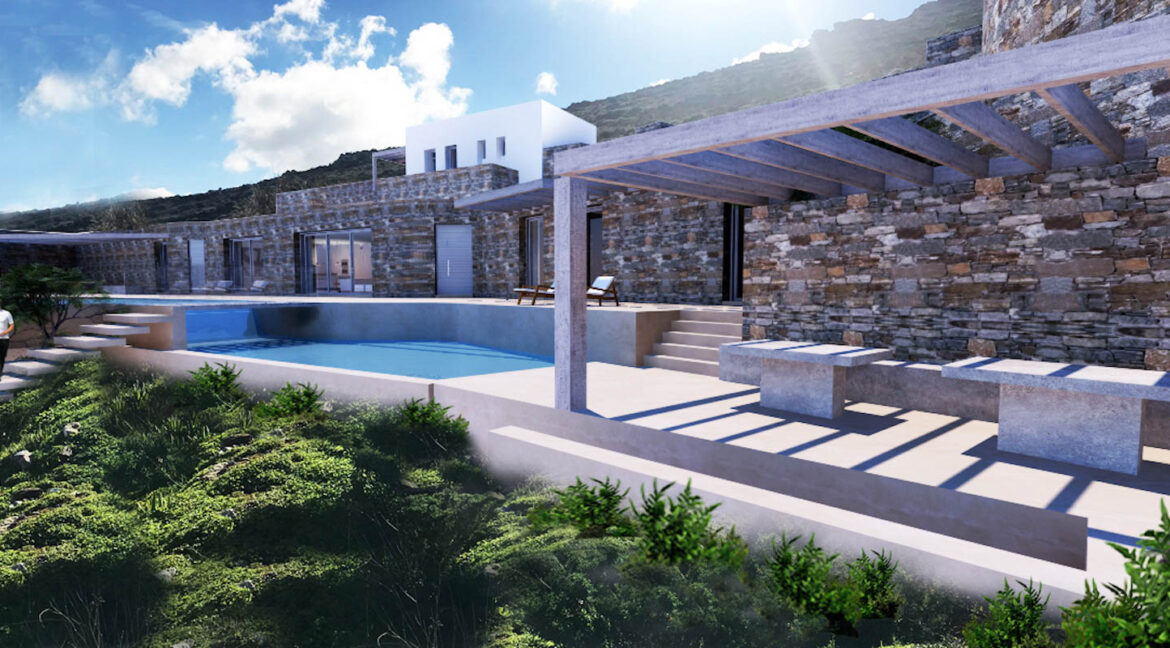 Villa for Sale in Paros Greece, Cave Style Villa in Parikia 1