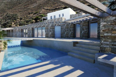 Villa for Sale in Paros Greece, Cave Style Villa in Parikia 10
