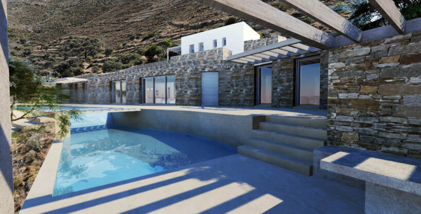 Villa for Sale in Paros Greece, Cave Style Villa in Parikia
