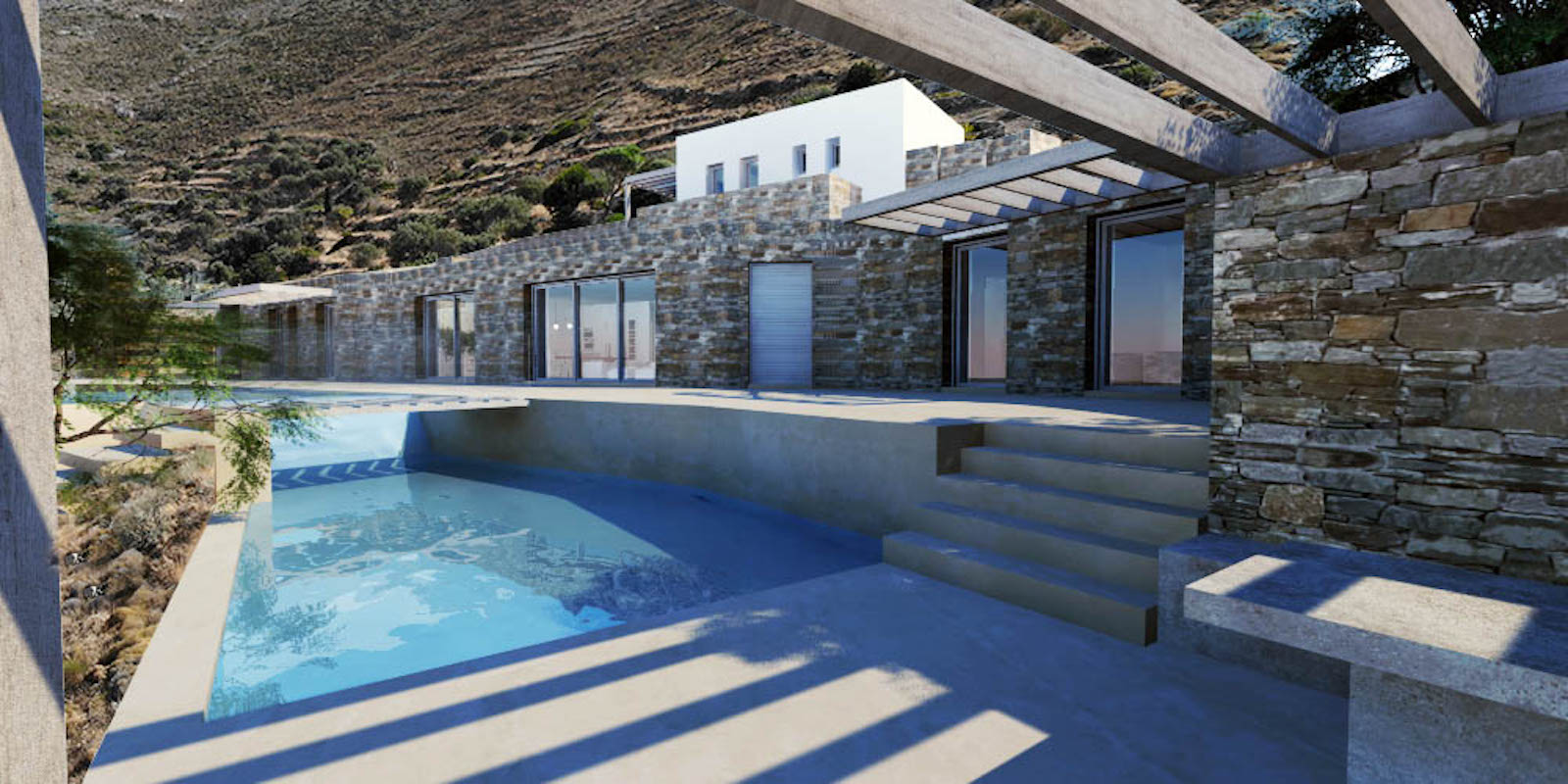 Excellent Villa for Sale in Paros Greece, Cave Style Villa in Parikia