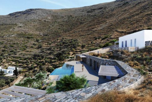 Villa for Sale in Paros Greece, Cave Style Villa in Parikia 11