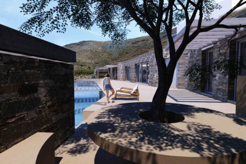 Villa for Sale in Paros Greece, Cave Style Villa in Parikia 12
