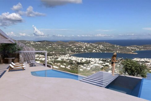 Villa for Sale in Paros Greece, Cave Style Villa in Parikia 2