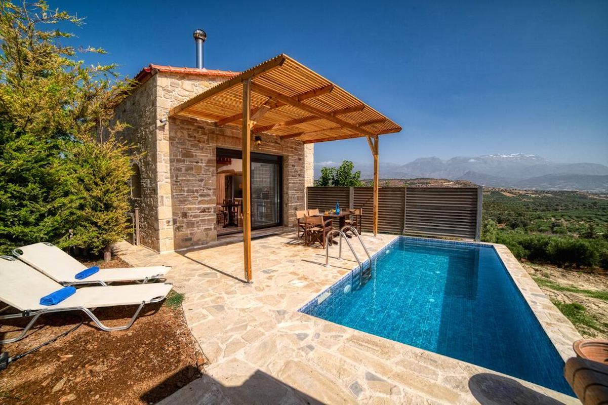 Complex of 3 Villas for sale in South Crete, Near Matala