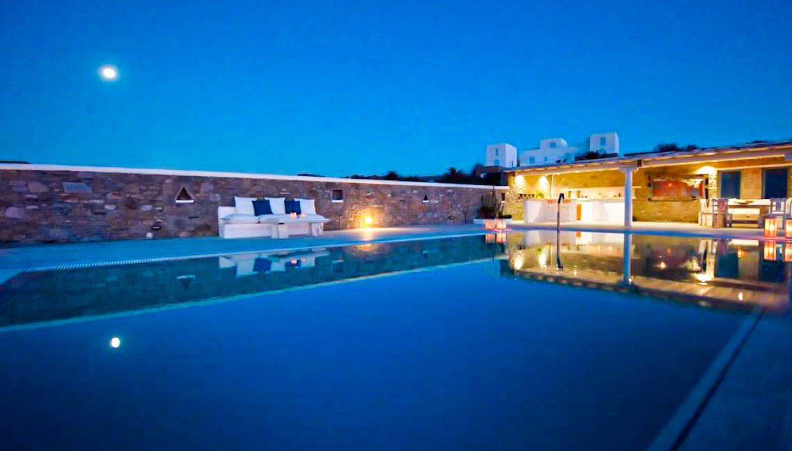 Villa in Super Paradise Mykonos Greece for Sale, Villas Mykonos for Sale 33