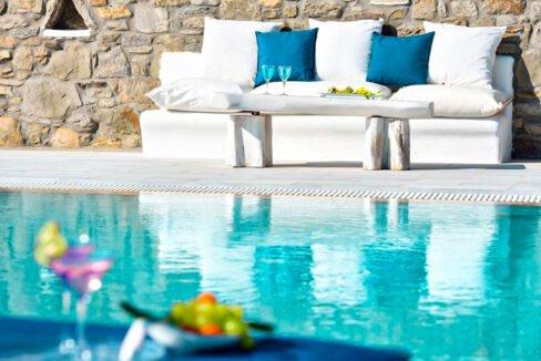 Villa in Super Paradise Mykonos Greece for Sale, Villas Mykonos for Sale 34