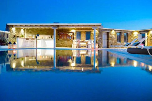 Villa in Super Paradise Mykonos Greece for Sale, Villas Mykonos for Sale 38