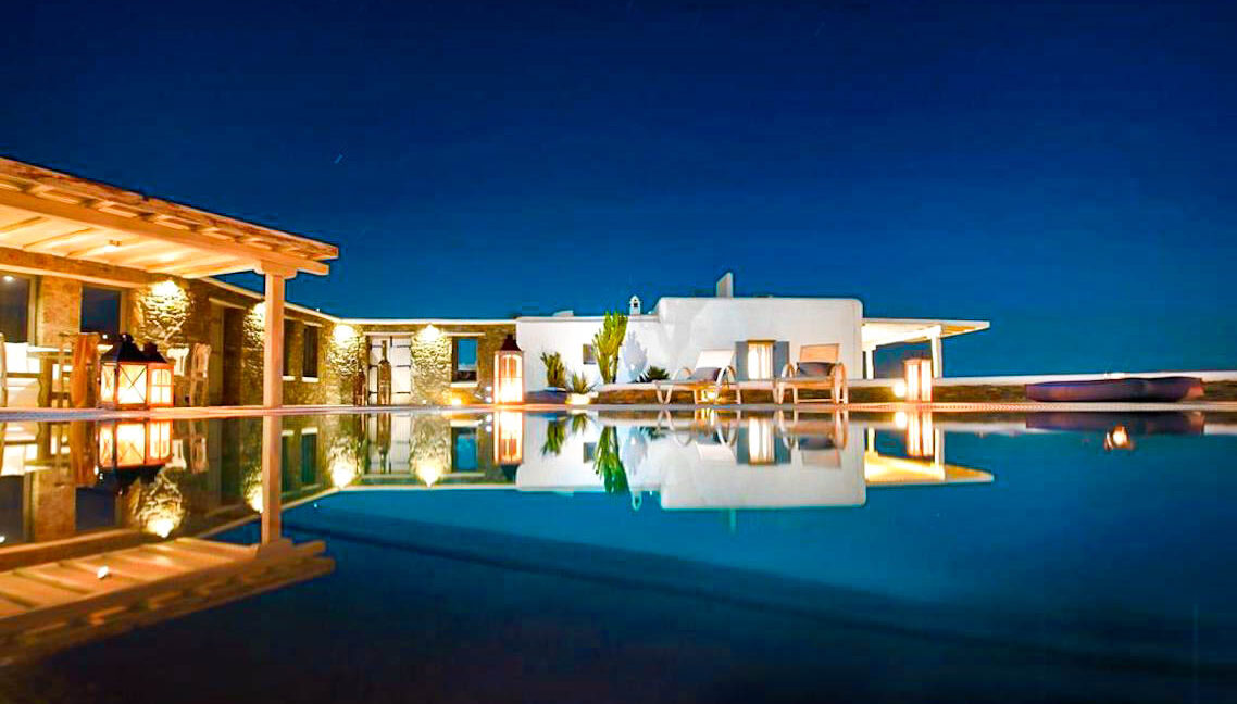 Villa in Super Paradise Mykonos Greece for Sale, Villas Mykonos for Sale 42
