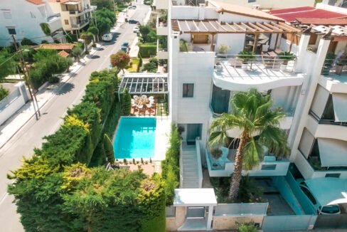 Villa with garden in Glyfada Athens, Homes in Glyfada South Athens, Buy House in Glyfada