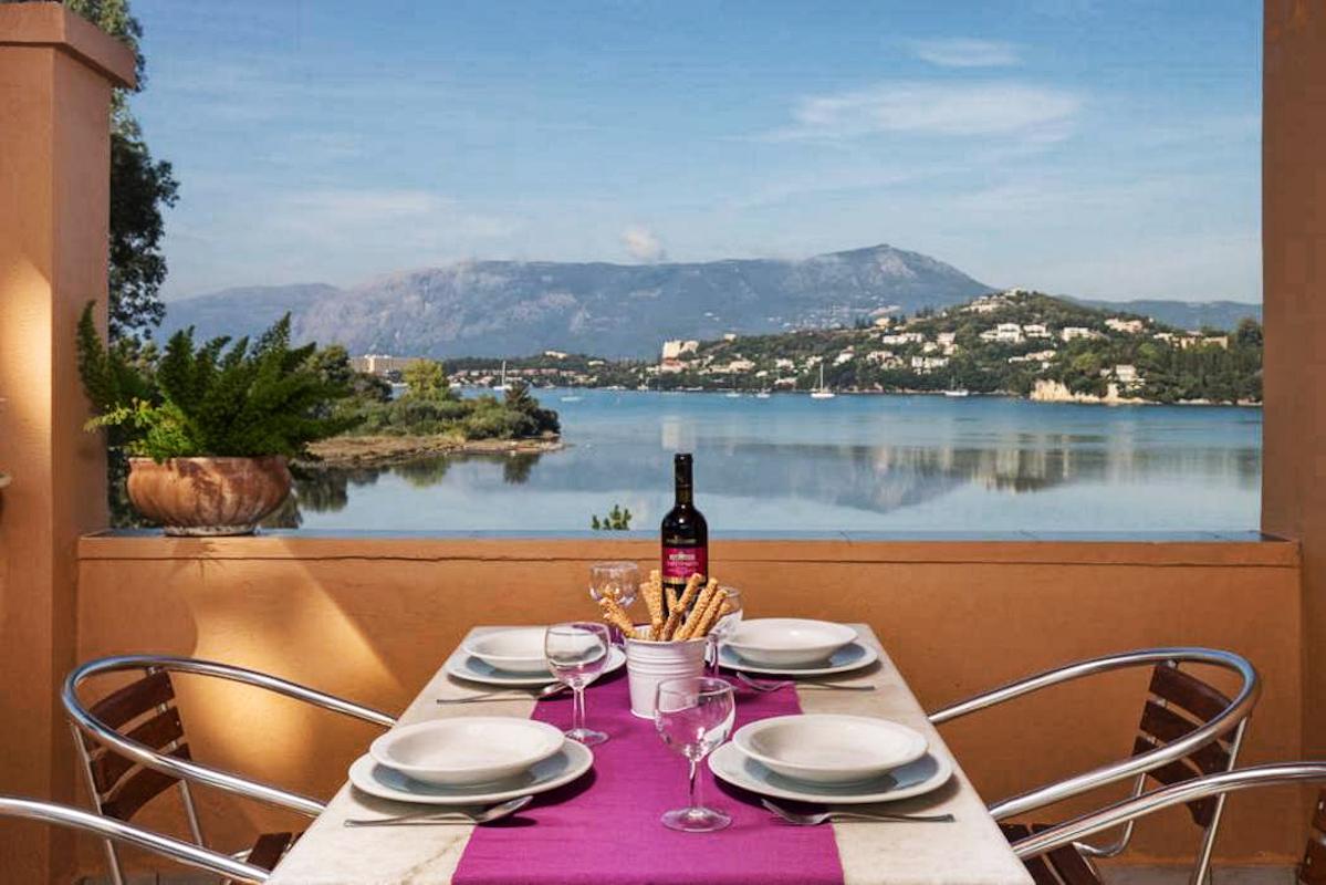 Apartments Hotel for Sale Corfu Greece, 10 apartments near the water, Kontokali