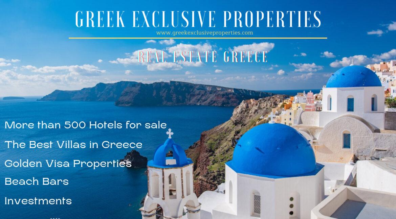 Greek Exclusive Properties, Real Estate Greece, Top Villas, Property in Greece, Luxury Estate, Home for sale in Greece
