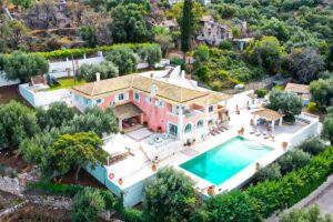 Hill Top Villa in Kassiopi Corfu Greece, Corfu Homes