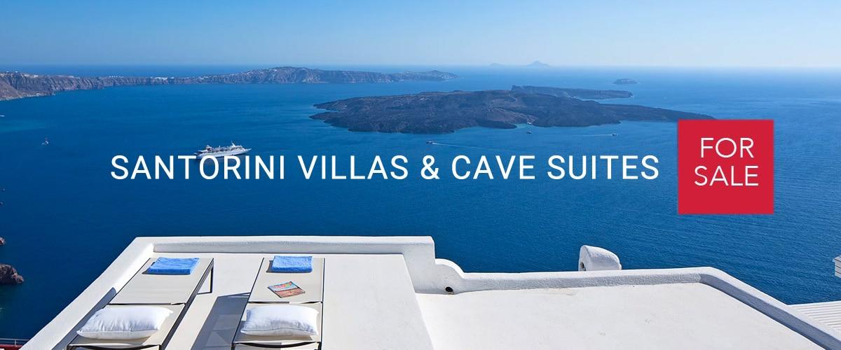 Homes for Sale in Santorini, Santorini cave house, Hotels for Sale in Santorini