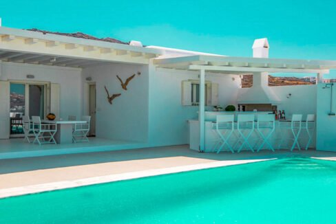 House with sea View near the Sea Mykonos Greece 18