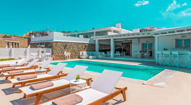 House with sea View near the Sea Mykonos Greece 19