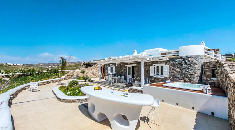 Luxury Mykonos Villas for sale, Kalafatis Mykonos 12