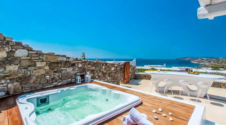 Luxury Mykonos Villas for sale, Kalafatis Mykonos 14