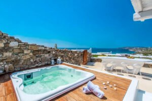 Luxury Mykonos Villas for sale, Kalafatis Mykonos