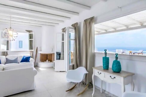 Luxury Mykonos Villas for sale, Kalafatis Mykonos 19