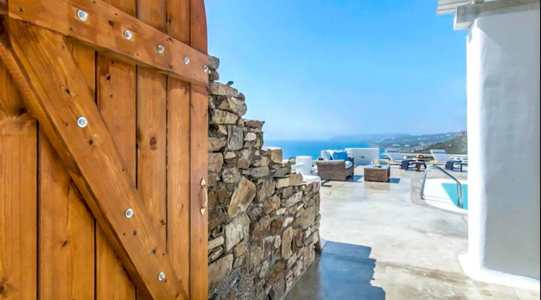 Luxury Mykonos Villas for sale, Kalafatis Mykonos 31