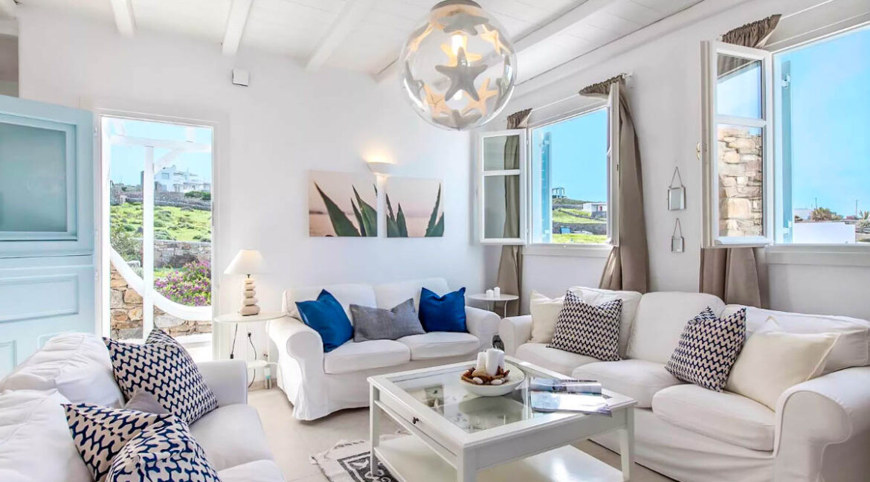 Luxury Mykonos Villas for sale, Kalafatis Mykonos 9