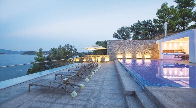 Luxury Seafront Property in Skiathos Greece. Hyperlux Seafront Villa in Greece 11