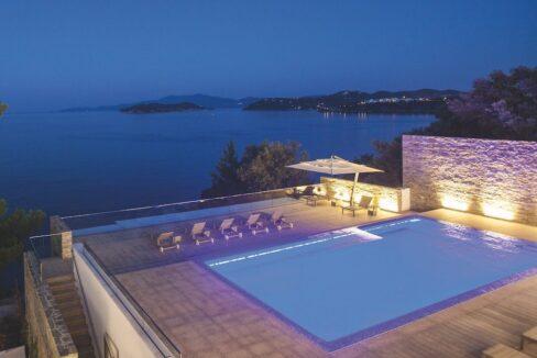Luxury Seafront Property in Skiathos Greece. Hyperlux Seafront Villa in Greece 12