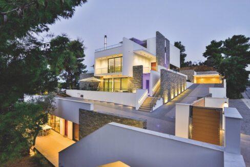 Luxury Seafront Property in Skiathos Greece. Hyperlux Seafront Villa in Greece 13
