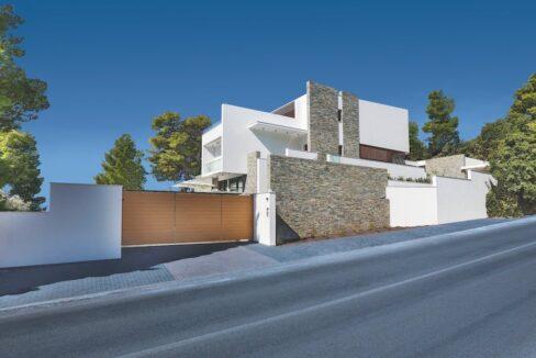 Luxury Seafront Property in Skiathos Greece. Hyperlux Seafront Villa in Greece 16