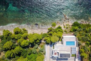 Luxury Seafront Property in Skiathos Greece. Hyperlux Seafront Villa in Greece