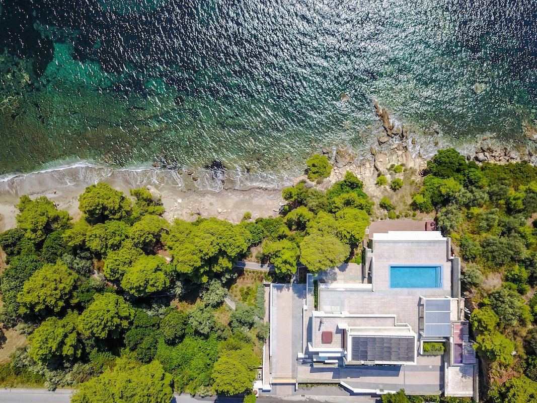 Luxury Seafront Property Skiathos Greece