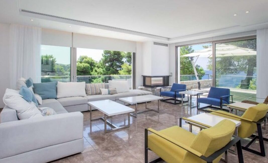 Luxury Seafront Property in Skiathos Greece. Hyperlux Seafront Villa in Greece 24