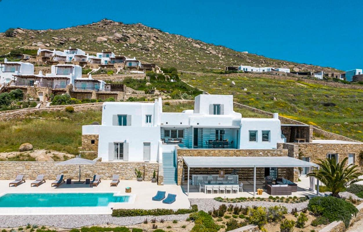 Luxury Villa Mykonos Lia Beach