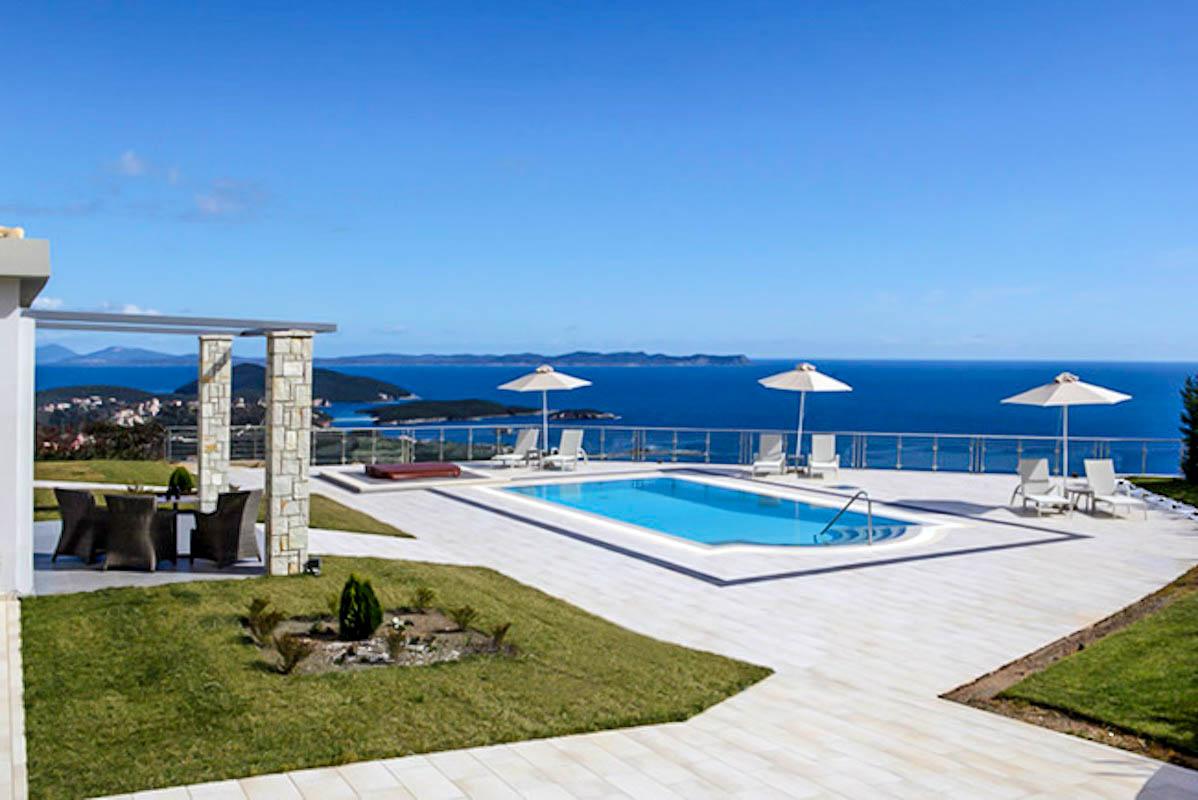 Luxury Villa at Syvota Ionio Greece with Helipad, next to Corfu