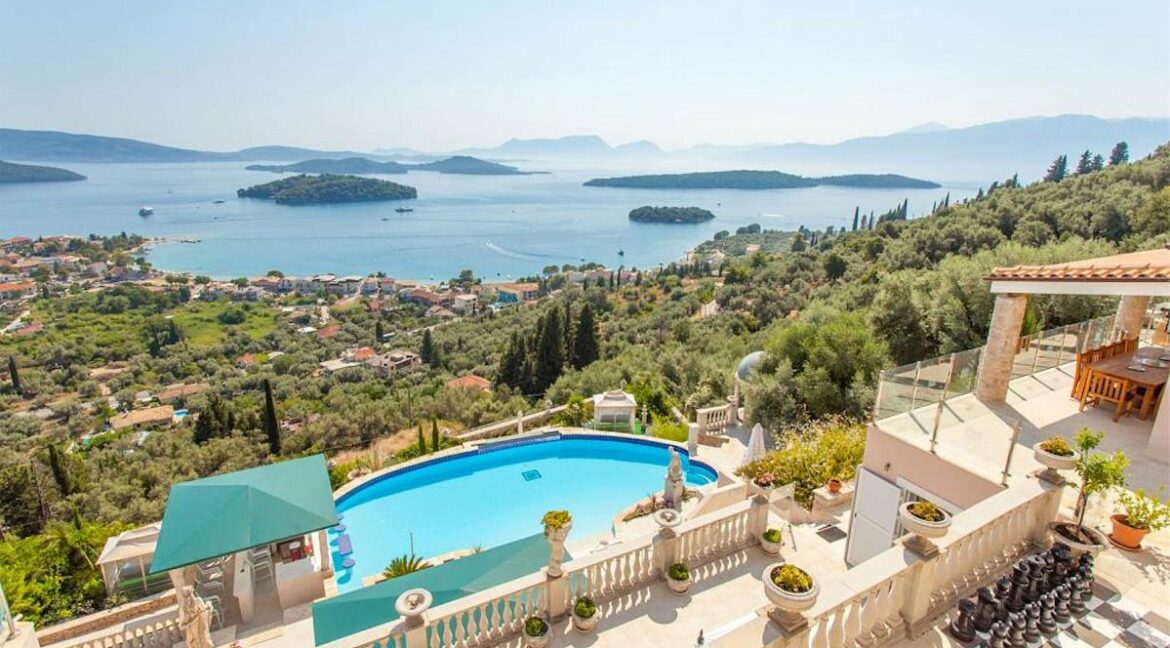 Mansion for sale in Lefkada Island, Luxury Estates in Lefkada Greece