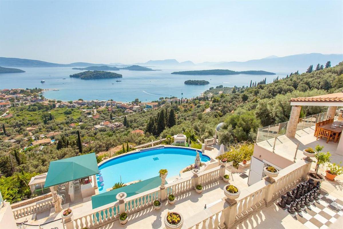 Mansion for sale in Lefkada Island, Helones, Nidri
