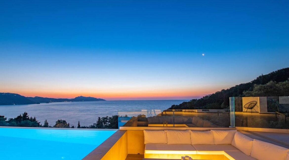 Modern Villa in Corfu with Great Sea Views, Corfu Homes