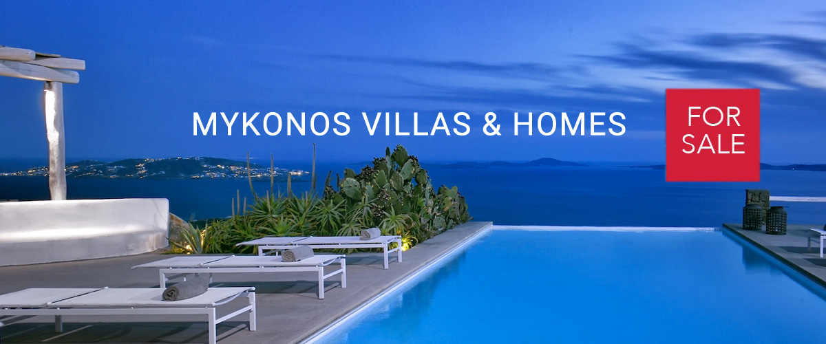 Mykonos Villas, Mykonos Properties, Houses in Mykonos for sale