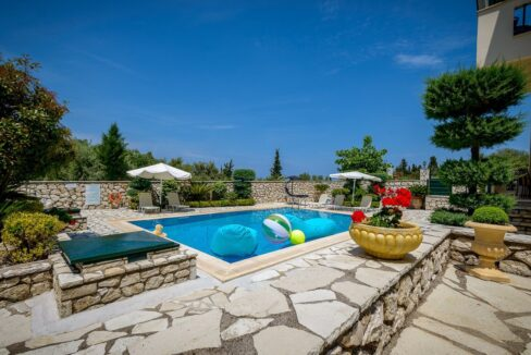 Properties Lefkada Greece with sea view 2