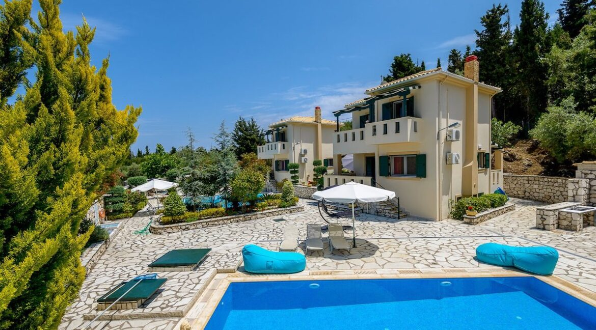 Properties Lefkada Greece with sea view