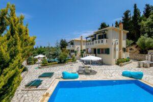 Properties Lefkada Greece with sea view