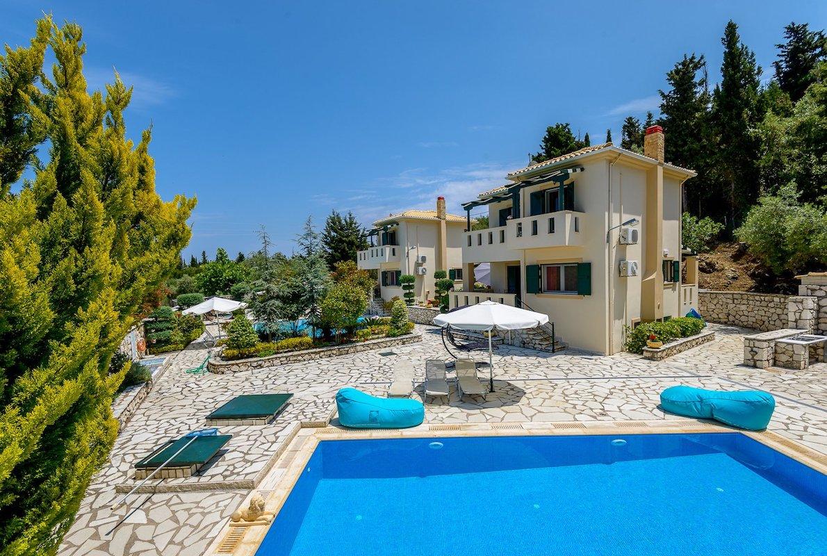 2 Properties Lefkada Greece with sea view, Agios Nikitas