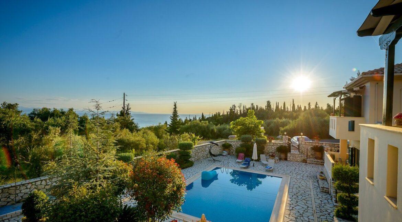 Properties Lefkada Greece with sea view 8