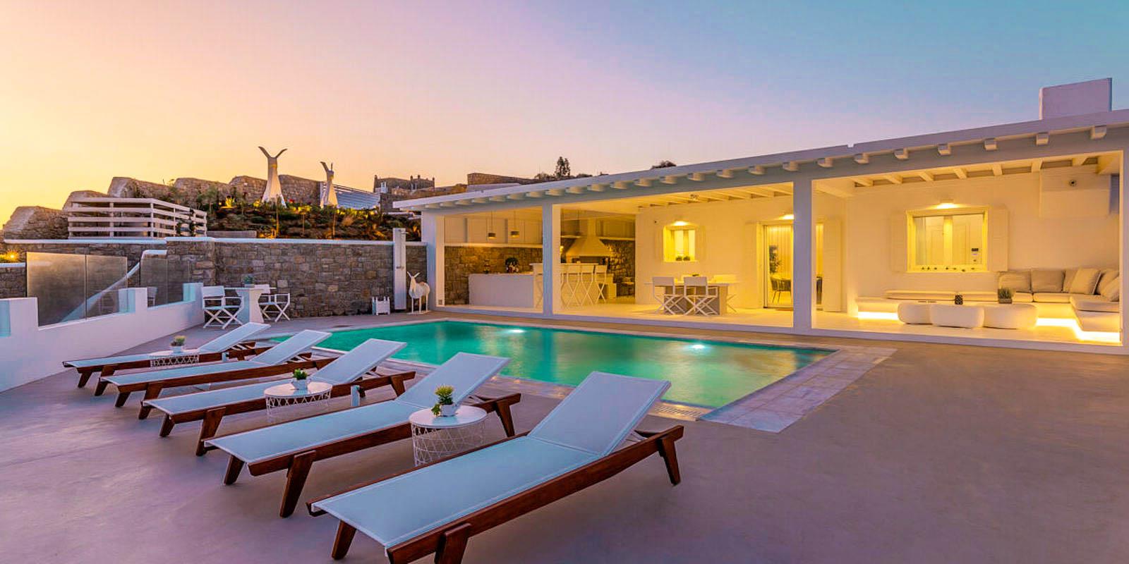 Property with sea View Mykonos Greece for sale, Kanalia