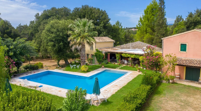 Property with very Big Land Plot Corfu Greece. Corfu Homes 1