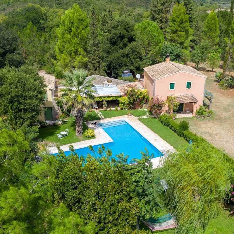 Property with very Big Land Plot Corfu Greece, 125.000sqm